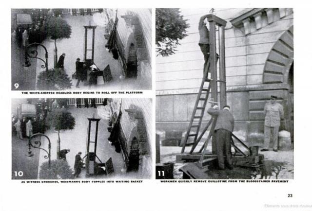 В довершение всего оказалось, что в одной из квартир, окна которых выходили на площадь, был установлен киноаппарат, и казнь оказалась запечатлена на камеру , возникли скандалы с прессой.