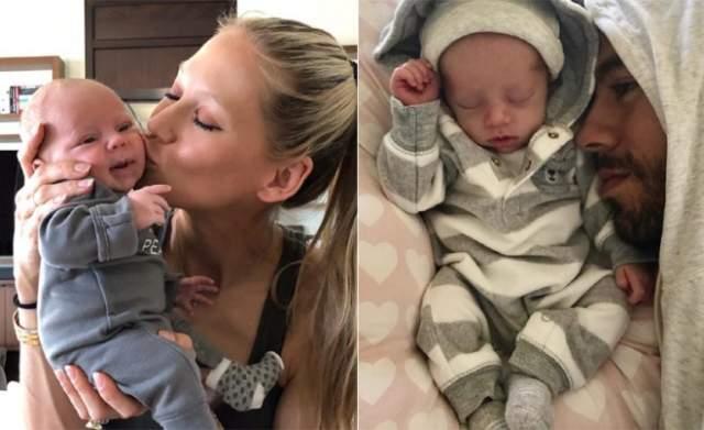 16 декабря 2017 года у влюбленных родились разнополые близнецы. малышам дали имена Николас и Люси.