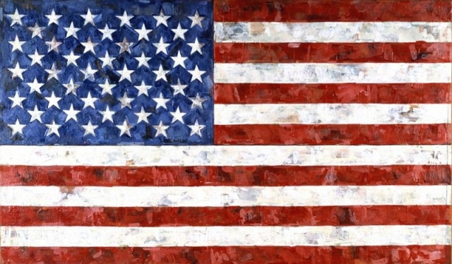"""$110 000 000. """"Флаг"""" , Джаспер Джонс, 1958 год."""