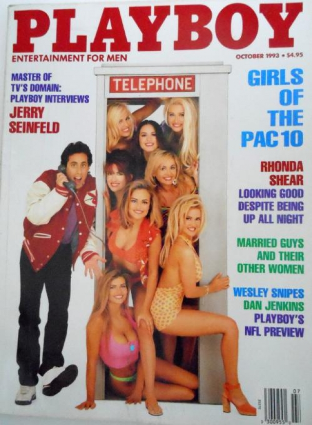 Jerry Seinfeld и модели, 1993