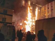 Подозреваемый в поджоге многоэтажного дома в Тюмени задержан