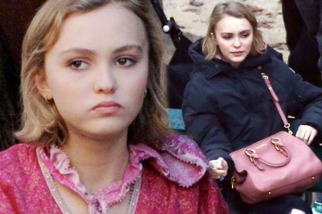 Лили Роуз-Депп, 19 лет. Когда Лили-Роуз Депп пришла со своей мамой Ванессой Паради на вечеринку Chanel, она попалась на глаза Карлу Лагерфельду и тут же стала одной из его любимых моделей.