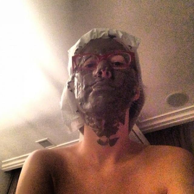 Был и такой вариант маски.