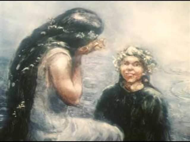 """Александр Петров, """"Русалка"""" (1996). Выполненная в технике """"живопись по стеклу"""" анимационная короткометражка принесла Петрову вторую номинацию на """"Оскар"""", но победу он так и не одержал."""