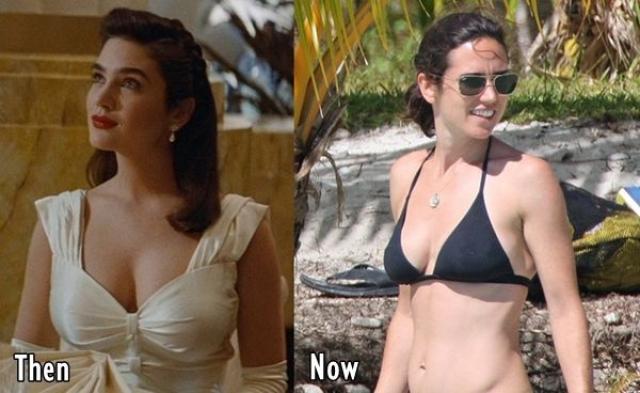Однако уже в 2006 году стало заметно явное уменьшение груди Дженнифер.