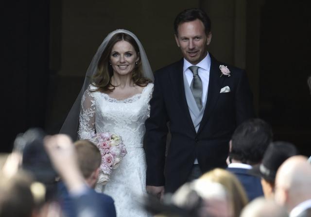 Джери Холлиуэлл вышла замуж за босса команды Формула-1 Кристиана Хорнера.