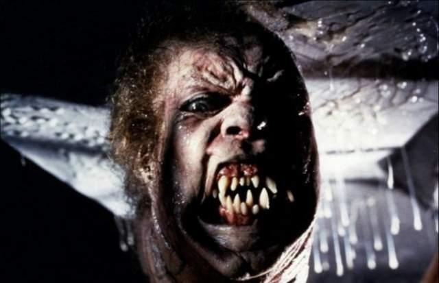 """Нечто """"Нечто"""" 1982 года Зло в кино никогда не было столь ужасающе бесформенным. Джон Карпентер, вдохновившись чудищами Лавкрафта, воплотил на экране некую биомассу, которая поразила зрелей куда больше антропоморфных монстров."""
