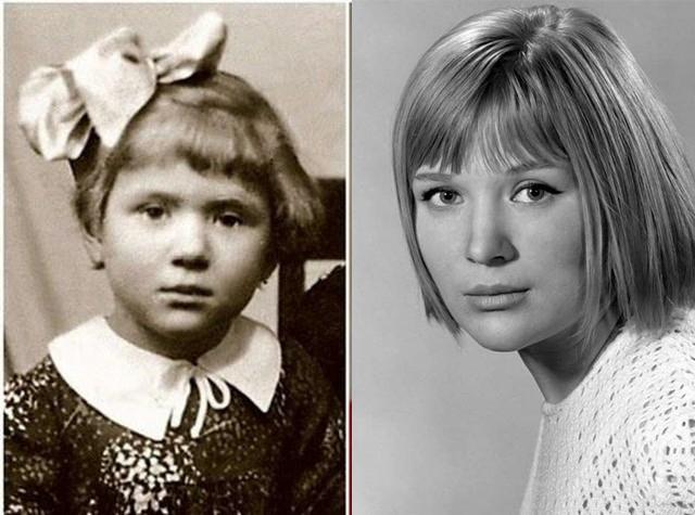 А это актриса Галина Польских .
