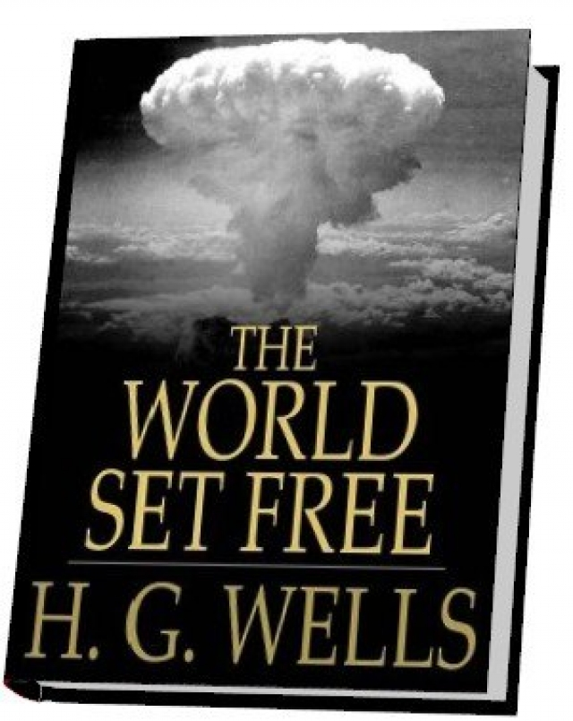 """Наиболее интересное откровение Герберта Уэллса было высказано в романе """"Освобожденный мир"""", в котором он предсказывает появление """"атомной бомбы""""."""