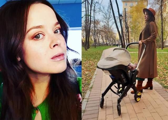 """Наталья Медведева, октябрь. Еще одна участница """"Камеди вумен"""" родила в 2018 году. Но имя и пол ребенка она и ее муж, КВНщик Александр Коптель, скрывают от общественности."""