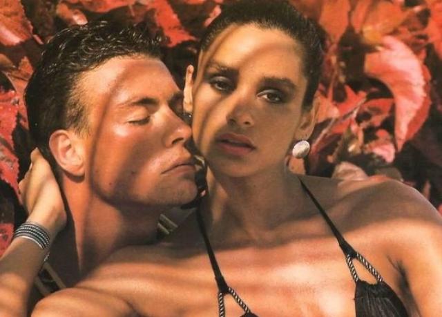 Жан-Клод Ван Дамм. В 1986 году начинающий актер познакомился с чемпионкой Америки по бодибилдингу и фотомоделью Глэдис Португез.