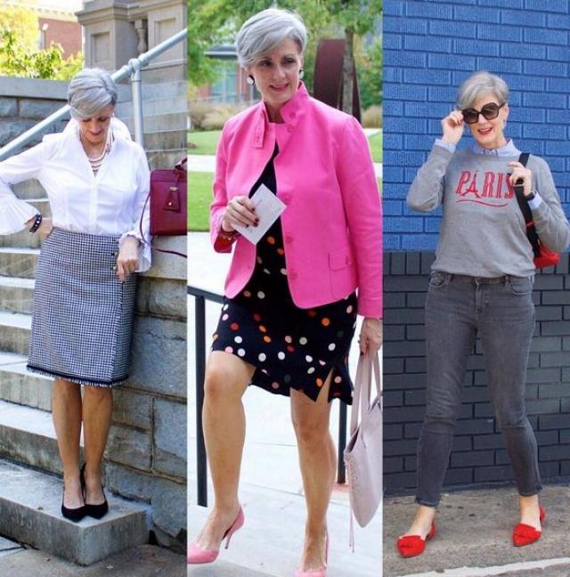Каждый день женщина размещает на своей страничке фото нового модного образа, пытаясь таким образом вдохновить и других женщин на эксперименты с внешностью и стилем.