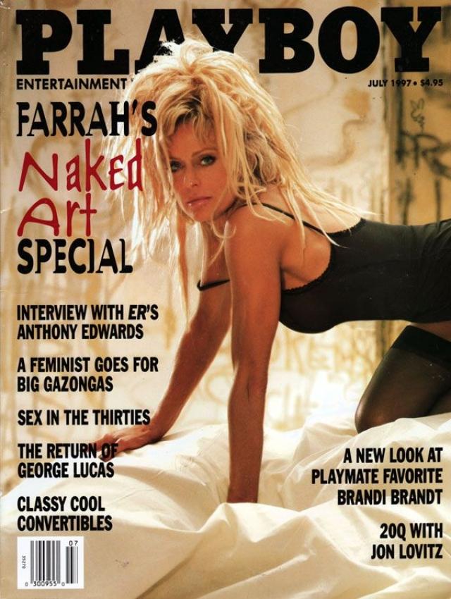 Даже в 1997 году на страницах журнала Playboy 50-летняя модель выглядела сексуально.
