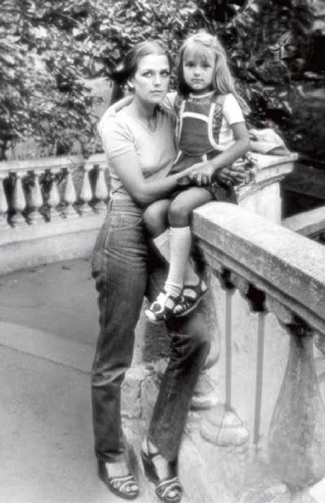 Ирина Алферова с дочерью Ксенией.