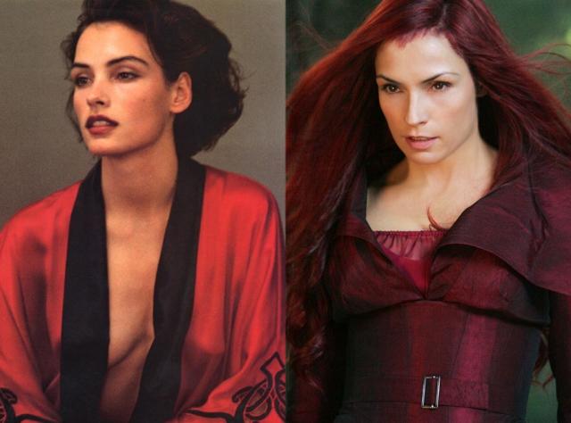 """Ну а сейчас она лучше всего известна по своей роли телепата Джин Грей в серии фильмов """"Люди Икс""""."""