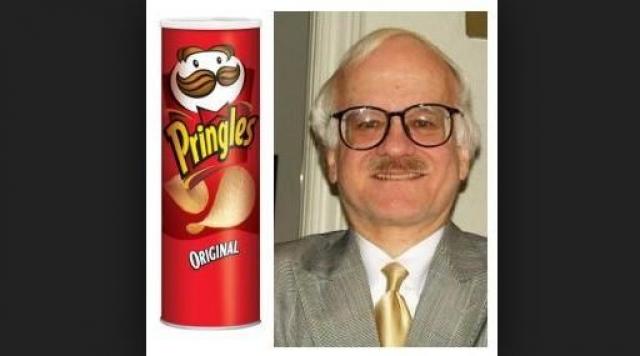 Фредерик Бор. Дизайнер цилиндрической упаковки чипсов Pringles тоже решил после ухода в мир иной не расставаться со своим детищем.