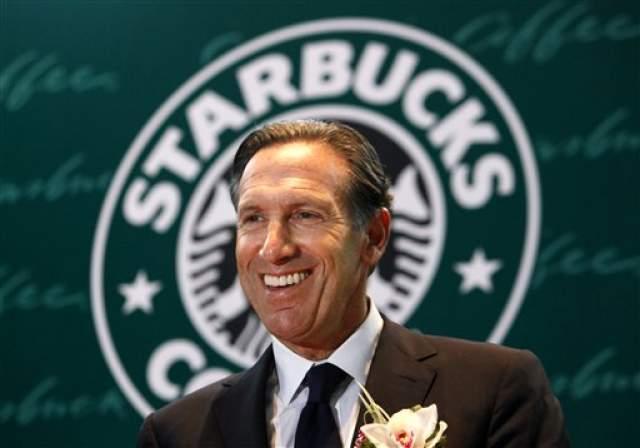 Starbucks — Говард Шульц. В 1971 году в Сиэтле открылся первый Starbucks — магазин по продаже кофейных зерен и оборудования.