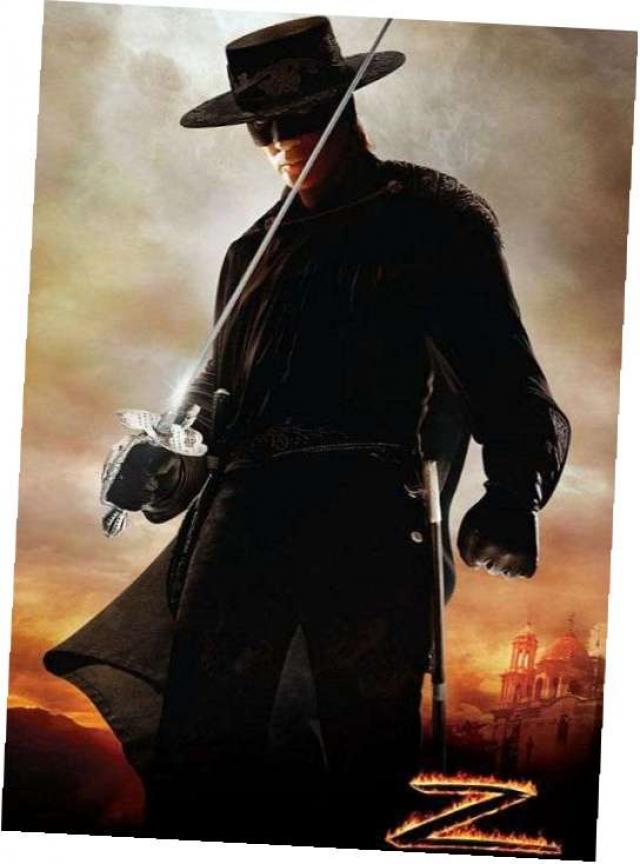 """""""Зорро"""". Роль пылкого героя в маске, защитника слабых и угнетенных сыграли несколько актеров."""