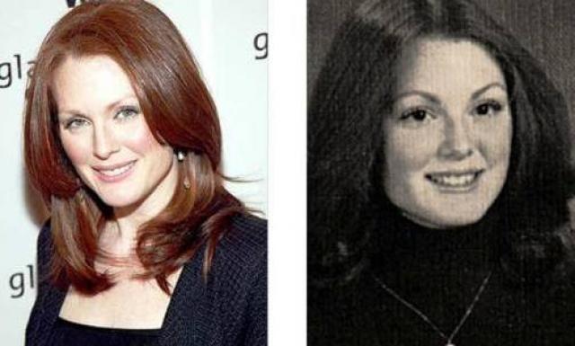 Возможно, Джулианна преувеличивает, поскольку, и на детских фото, несмотря на круглые щечки, была весьма привлекательна.
