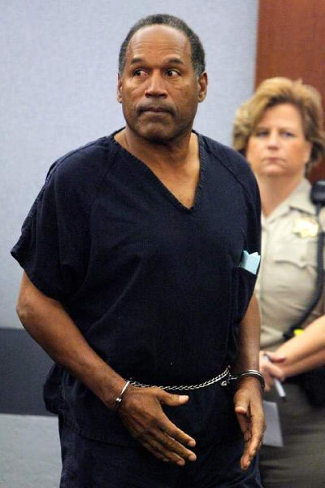 2. О.Джей Симпсон, 73 лет, игрок в американский футбол Нарушения закона: двойное убийство, вооруженное ограбление и похищение людей, организация и руководство преступным сообществом.
