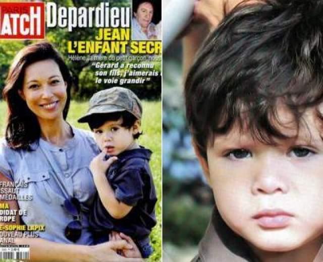 Клементин даже не взволновал тот факт, что в этом же году сына Жана Депардье родила еще одна красавица - актриса Элен Бижо.