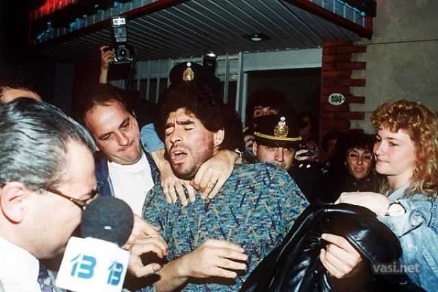 СМИ и специалисты заподозрили его в феврале 1991, и, спустя некоторое время, в его крови был найден кокаин, который повлек 15-месячную дисквалификацию.