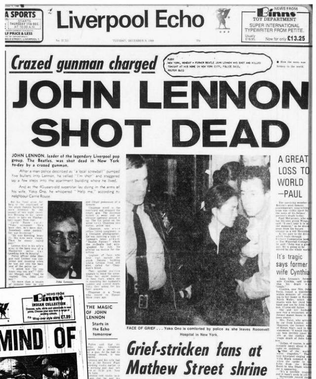 Он был кремирован в крематории кладбища Фэрнклифф (Гринбург, Вестчестер, штат Нью-Йорк), прах Леннона был передан Йоко Оно