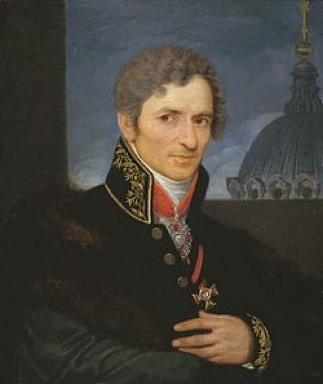 Андрей Воронихин. Прославленный архитектор, один из основоположников русского ампира, получил при жизни множество наград.