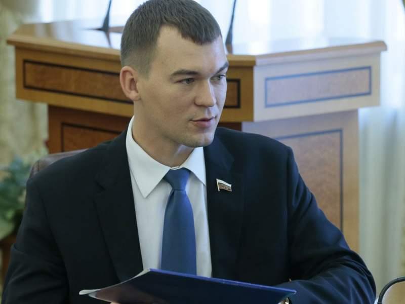 СМИ узнали имя врио губернатора Хабаровского края