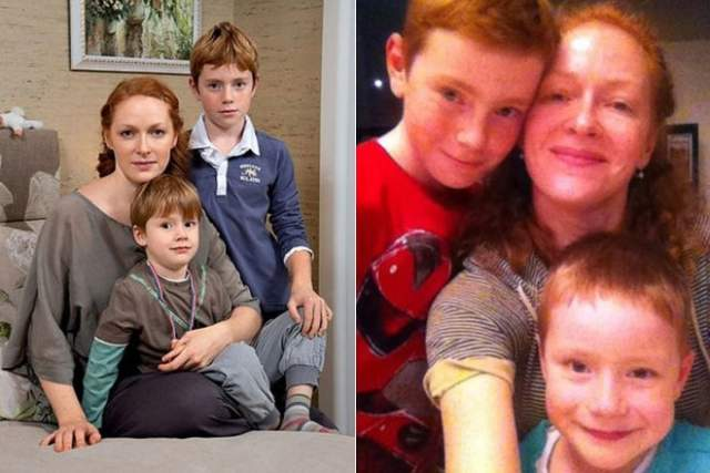 В браке у Андрея и Натальи родились двое детей.