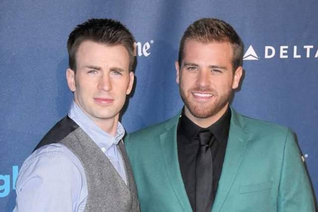 """Скотт Эванс. Брат Криса Эванса, звезды фильмов """"Капитан Америка"""" и """"Фантастическая четверка"""", расстроил своих поклонниц заявлением, что ему нравятся мужчины."""