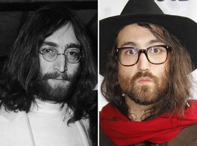 """Шон Леннон Американский актер, композитор, сценарист снял свой первый фильм еще в 1988 году. Особую популярность сыну Джона Леннона принесла работа над фильмами: """"Лунная походка"""", """"Монстр в Париже""""."""