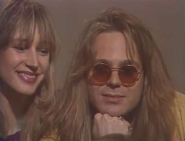 Кристина Орбакайте и Владимир Пресняков в 1992 году.