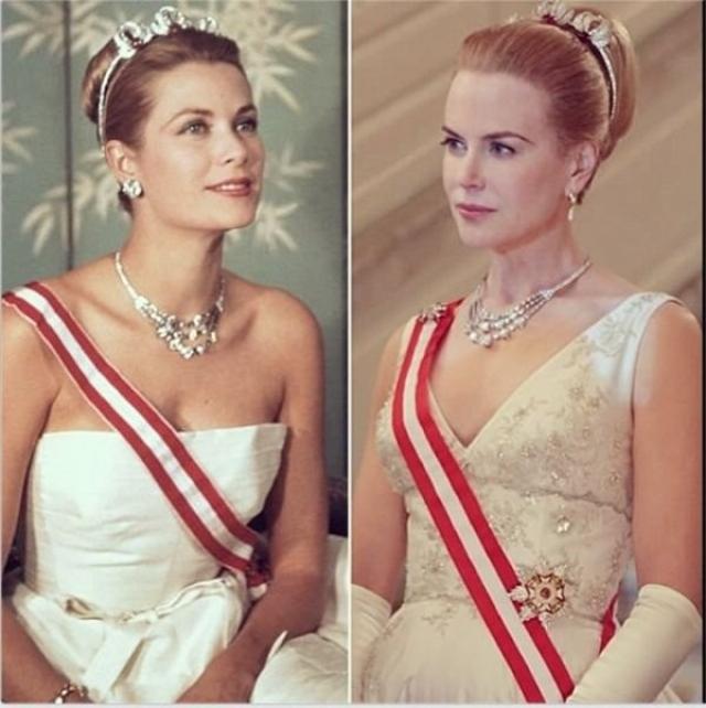 "Грейс Келли и Николь Кидман , ""Принцесса Монако""."