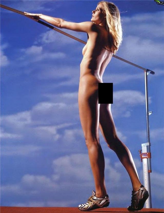 Эми Лин Акуфф. Американская прыгунья в высоту участвовала в четырех Олимпиадах, а также в смелой фотосессии.