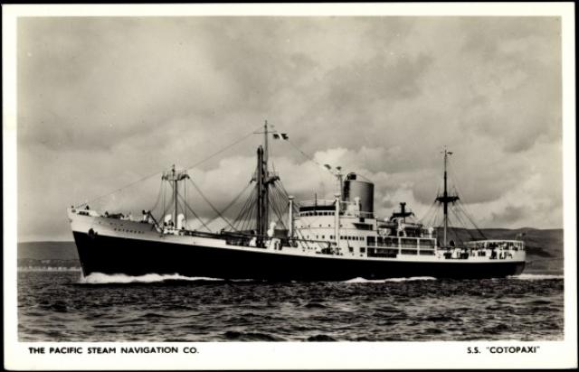 Предполагается, что этот корабль является SS. Cotopaxi , который бесследно исчез в водах Бермудского Треугольника еще в декабре 1925 года.