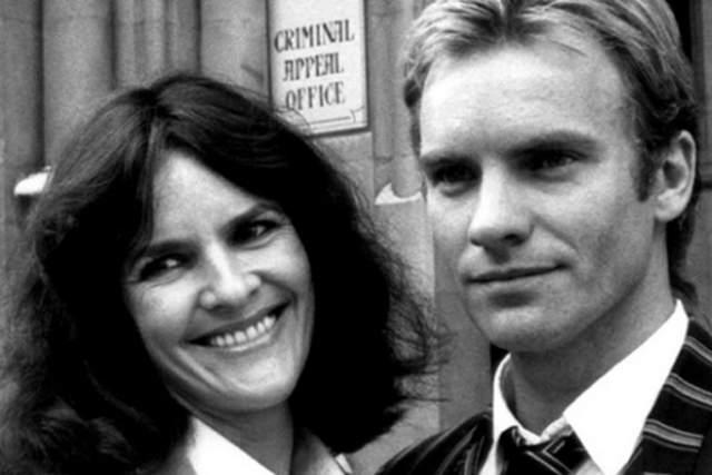 """Стинг Первый раз Стинг женился в 1976 году на ирландской актрисе Френсис Томелти, которая получила мировую известность благодаря работе над сериалом """"чисто английские убийства"""". У Гордона и Френсис родилось двое детей. В связи с разладами внутри семьи пара рассталась в 1984 году."""