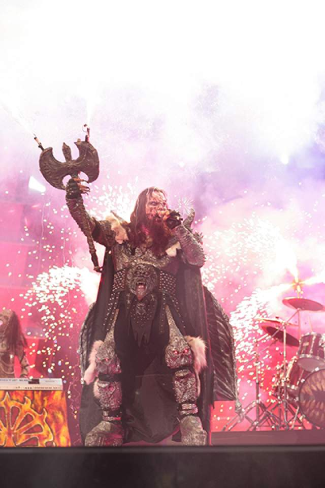 "Lordi , Финляндия (""Hard Rock Hallelujah""), 2006 год"
