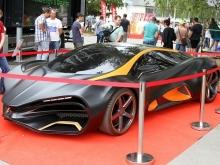 ВЛатвии показали первый украинский суперкар, подозрительно похожий наLada Raven (ВИДЕО)