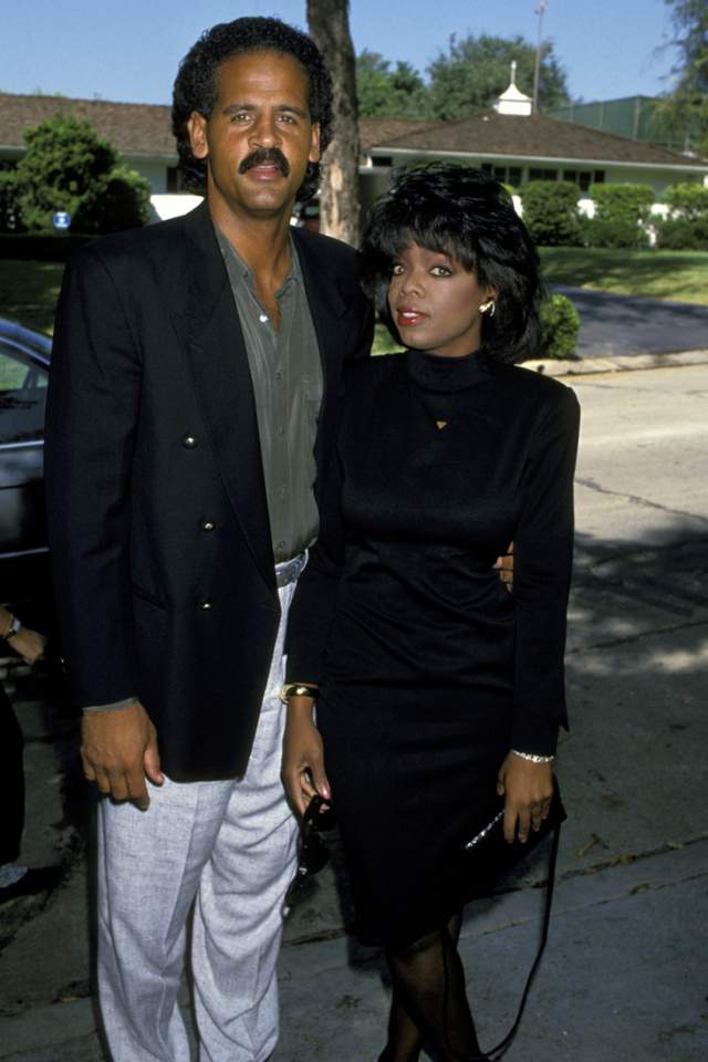 В 1992 году они обвенчались, Грэхем сделал предложение своей звезде телевидения, но до ЗАГСа они не дошли. Опра сказала, что никогда не выйдет замуж, - это просто не для нее.