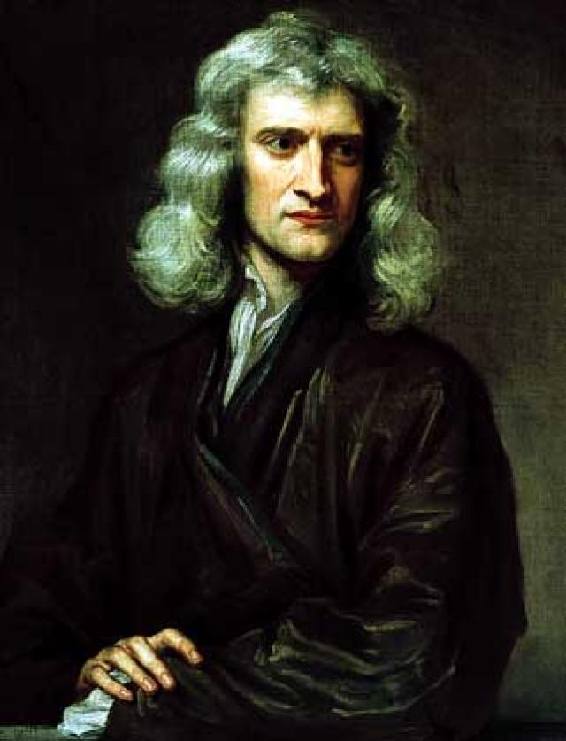 Исаак Ньютон. О рассеянности ученого ходили легенды. Однажды, задумавшись, он сварил свои карманные часы вместо яйца, которое он держал в руке.