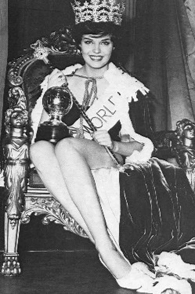 Розмари Франкленд (Великобритания) - Мисс мира 1961.