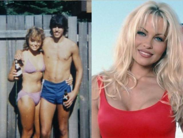 Памела Андерсон, 51 год. До пластики звезда обладала третьим размером груди, а после первой операции бюст увеличился до четвертого.