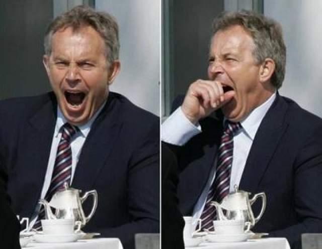 Тони Блэр, бывший лидер Лейбористской партии Великобритании.