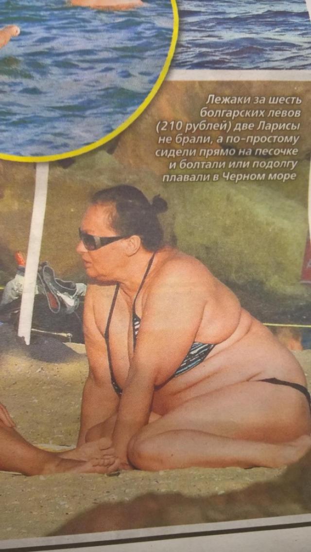 Лариса Гузеева даже заработала нервный срыв из-за неприглядных фото с отдыха в Болгарии.