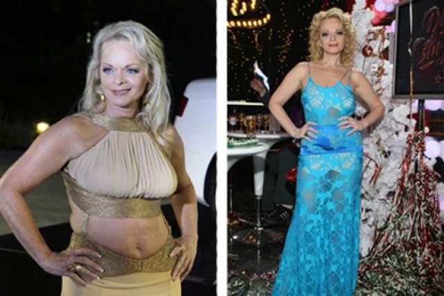 Лариса Долина. Певица относится к тем дамам, которые страдают от постоянно скачущего веса.