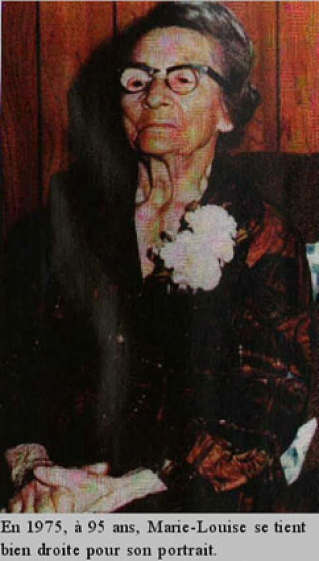 Женщина считала, что живет долго, поскольку работает не покладая рук, а к вредным привычкам относилась очень легко: могла и выпить стакан вина, и покурить. Причем сигареты она бросила только в 90 лет, за 27 лет до смерти.