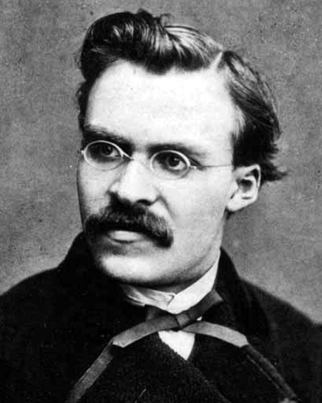 """Фридрих Ницше : """"Падающего нужно еще подтолкнуть."""""""