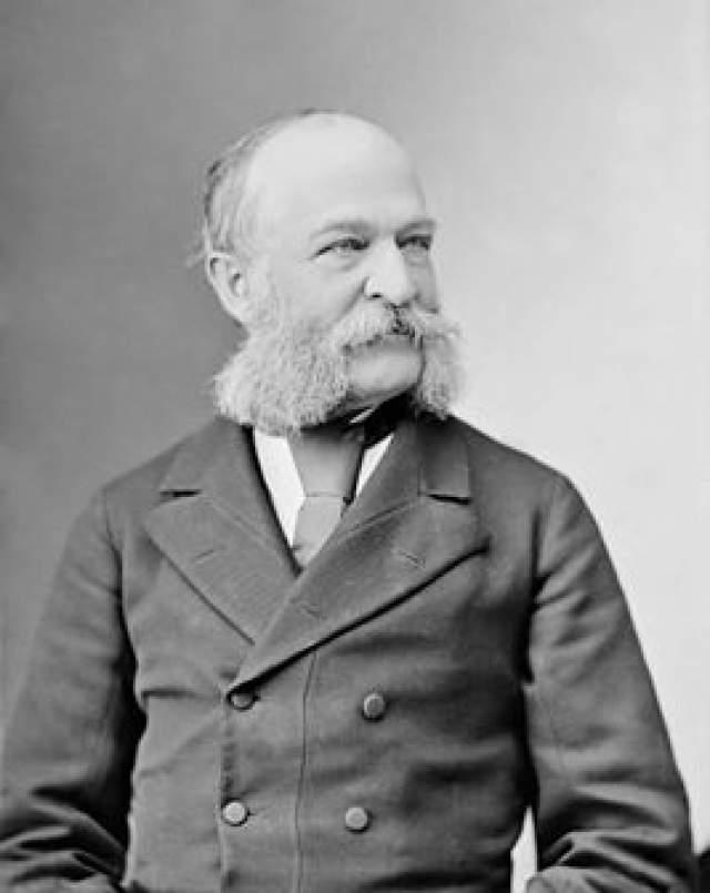 Леви П. Мортон, 16 мая 1824 - 16 мая 1920. 22-й вице-президента США и губернатор Нью-Йорка.