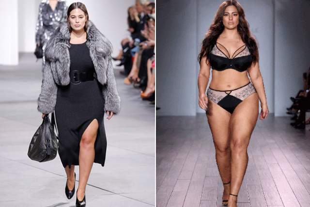 Эшли Грэм, 31 год. Вес: 91 кг, рост: 175. Одна из самых востребованных топ-моделей, буквально перевернувшая шоу-бизнес. Несмотря на вес, приближающийся к центнеру, Грэм пользуется немалой популярностью и регулярно снимается для мировых глянцев.